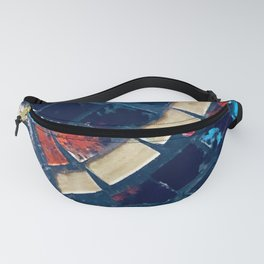 Vintage Italian Mosaic Tiles Fanny Pack