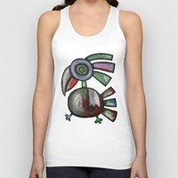 parrot Tank Tops featuring Parrot by Rudolf Brancovsky