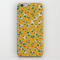 yellow pattern iPhone & iPod Skins featuring Yellow by Alisa Galitsyna