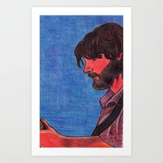 John Bell- Close Up Art Print