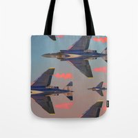 planes Tote Bags featuring planes planes planes by Sarah Brust