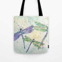 Xena's Dragonfly Tote Bag