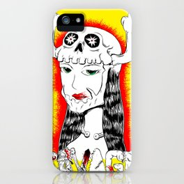 Savage Skullet iPhone Case