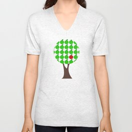 Apple tree Unisex V-Neck
