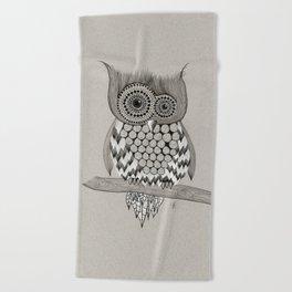 Rupert Owl Beach Towel