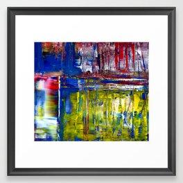 Raining in Richmond 3 Framed Art Print