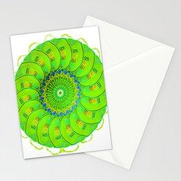 green magic circle 2 Stationery Cards