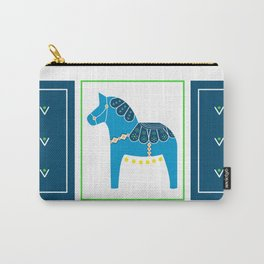 Spring Dala Horse 2 Carry-All Pouch