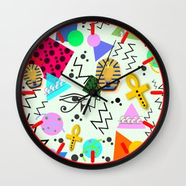 Egyptian Memphis Wall Clock