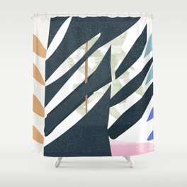 Sketchbook Jungle Shower Curtain