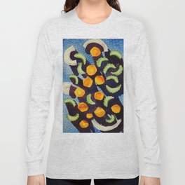 Soup Abstracted Long Sleeve T-shirt