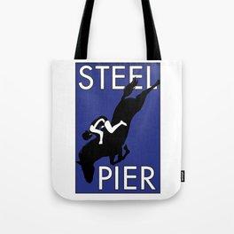 Atlantic City, NJ  Steel Pier Diving Horse Tote Bag