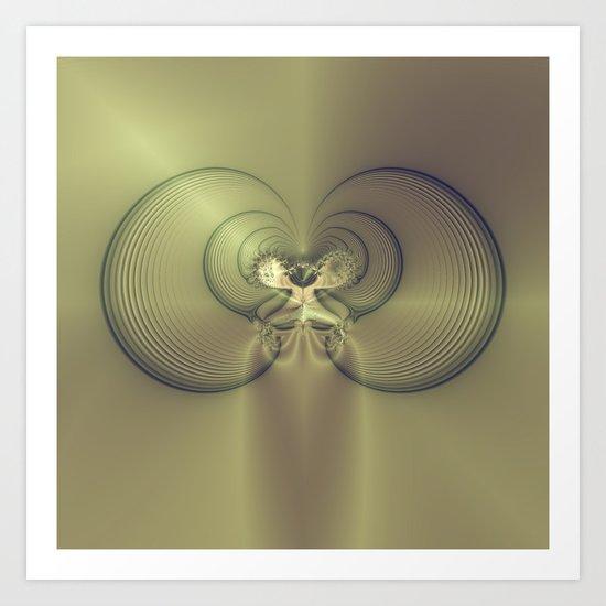Metallic Feeling Art Print