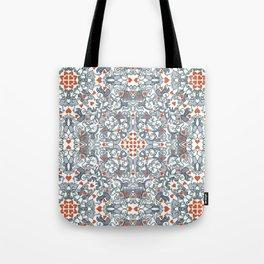 Kisses of love in a mandala design for Valentine's Day Tote Bag