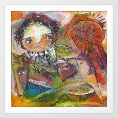 Run With The Wind Art Print