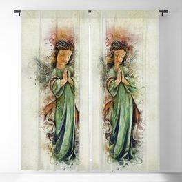 An Angels Love Blackout Curtain