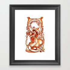 The Taming of the Shrew Framed Art Print
