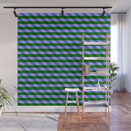 Color_Stripe_2019_002 Wall Mural