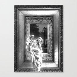 Angel of Bristol (BW) Canvas Print