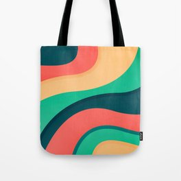 The river, abstract painting Tote Bag