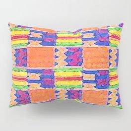 African Influence Textile Pillow Sham