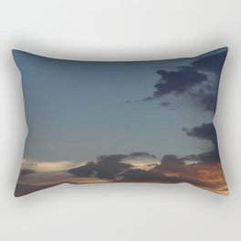 Sunset in the Valley Rectangular Pillow