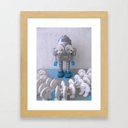 Le messie Framed Art Print