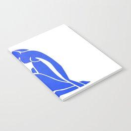 BLUE MATISSE CUT OUT Notebook