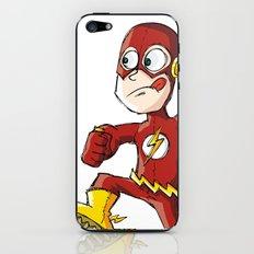 Hurry, Flash! iPhone & iPod Skin