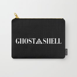 Ghost In The Shell Title (White) Carry-All Pouch