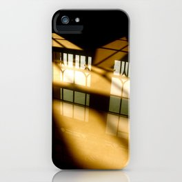 REFLECTIONS IN YELLOW iPhone Case