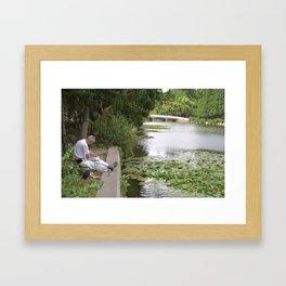 Morning Peace Framed Art Print