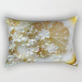Lemon and elderflower Rectangular Pillow