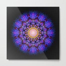 Flower Mandala II Metal Print