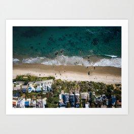 Broad Beach Art Print