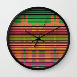 Colour Code. Wall Clock