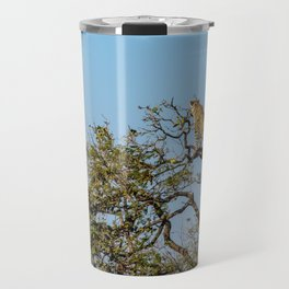 Leopard in a Tree Travel Mug