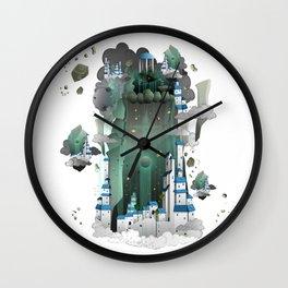 Paradise City Wall Clock