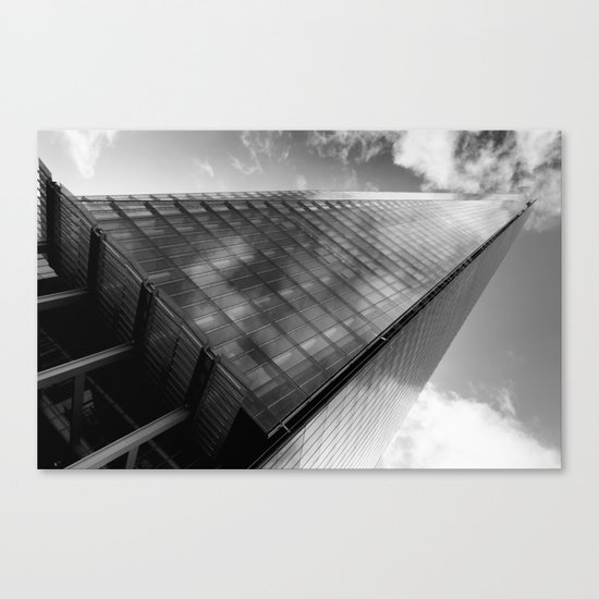 The Leaning Shard Of London  Canvas Print