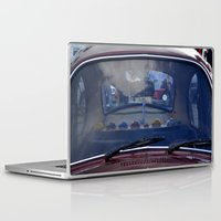 volkswagen Laptop & iPad Skins featuring volkswagen beetle car by gzm_guvenc