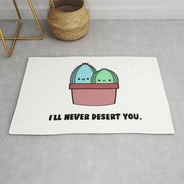 I'll Never Desert You Rug