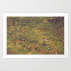 Miniature Madagascar Art Print