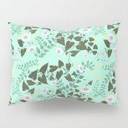 Honeysuckle & Bindweed Pillow Sham