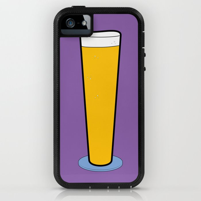 Beer Glasses (Pilsner) iPhone Case