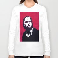 nick cave Long Sleeve T-shirts featuring Nick Cave by James Courtney-Prior