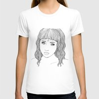 doll T-shirts featuring doll by Ripley Bruce