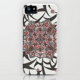 Spider Webs 3 iPhone Case