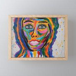 PRETTY WOMAN Framed Mini Art Print