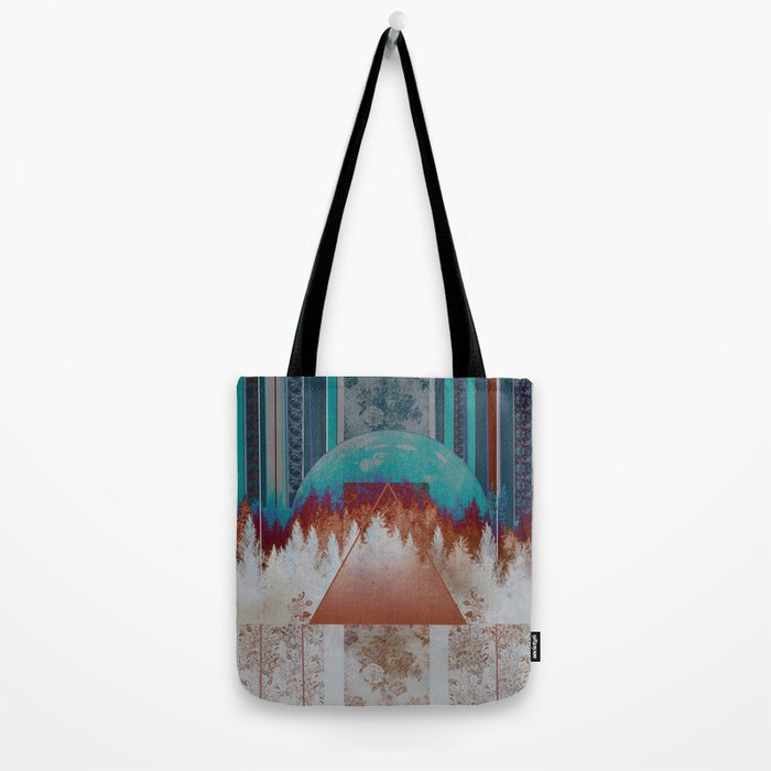 abstract floral forest 3 Tote Bag