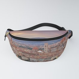 Panorama Florence, Italy. Fanny Pack